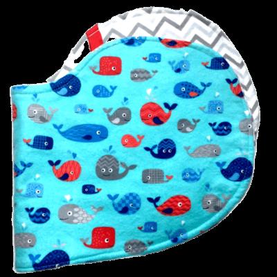 Whales Teal Hybrid