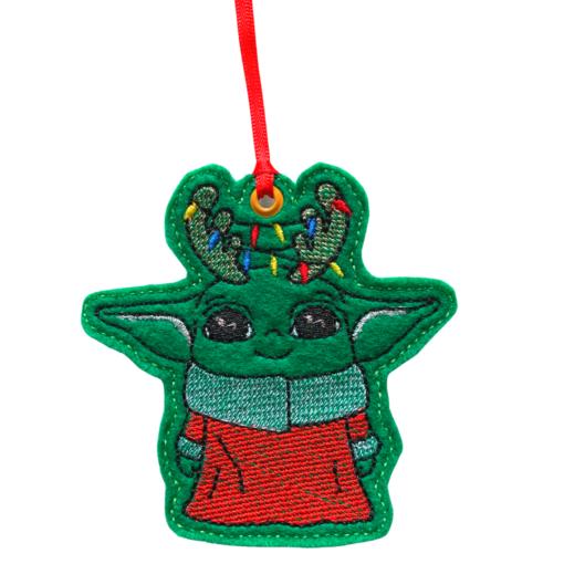 Christmas Yoda