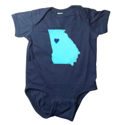 Blue Georgia Bodysuit